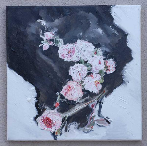 Rosen am Fenster