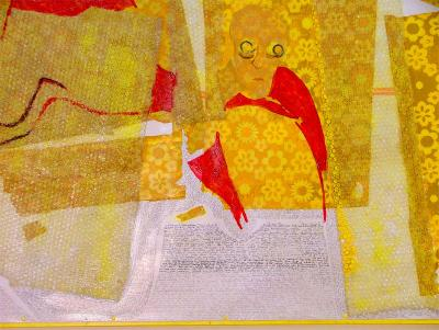 Die Gelbe Tapete Detail